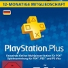 12 Monate PlayStation Plus für 47,99€ bzw. 44,99€