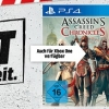 Media Markt Outlet: The Witcher Wild Hunt - Blood and Wine Limited Edition (PS4) für 15€, Assassin's Creed Chronicles (PS4) für 17€