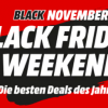 Black Friday Weekend bei MediaMarkt / Saturn
