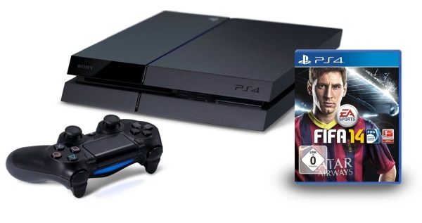 PS4 Bundle inklusive FIFA 14