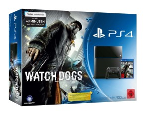 PS4 Konsole + Watchdogs