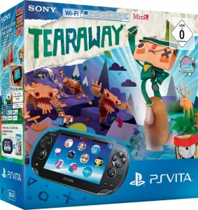 PS Vita WiFi + Tearaway - Amazon