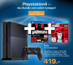 Saturn PS4 Late Night Shopping Angebot