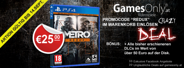 Gamesonly Metro Redux PS4