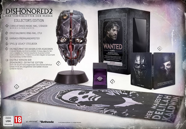 Dishonored-2-Collectors-Edition-PS4-Inhalte-Amazon