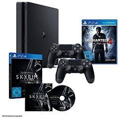 ps4-slim-1tb-uncharted4-skyrim-2controller-amazon_x240